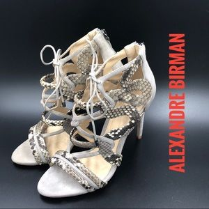 Alexandre Birman - Python Sandals